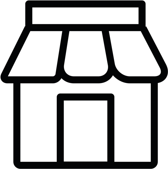 Store Icon Png , Transparent Cartoon.