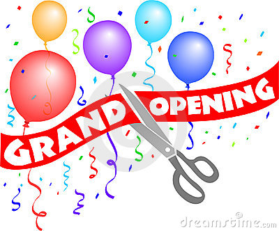 Grand Opening Clipart.