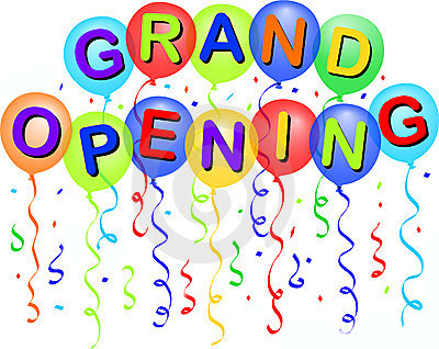 Grand opening clipart free.