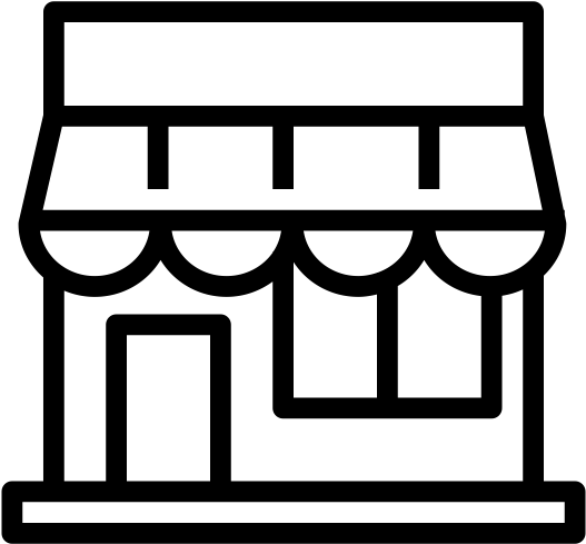 Sari Sari Store Icon Clipart.