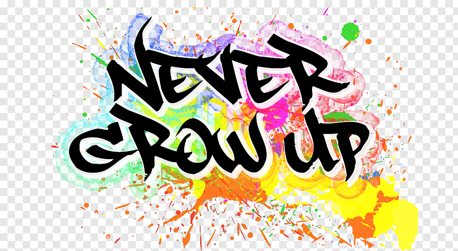 Never Grow Up Logo YouTube Storenvy Font, others free png.