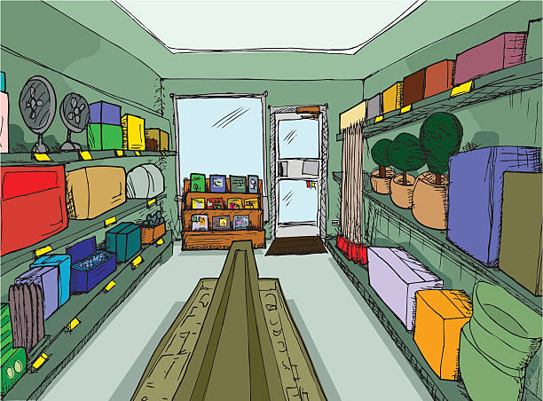 Store Room Clipart.