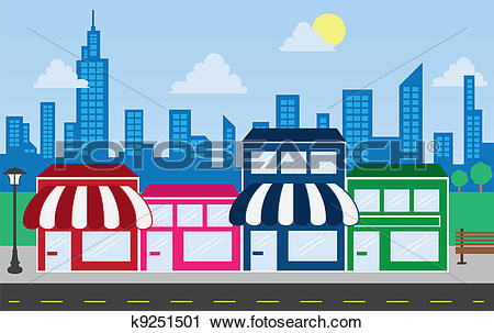 Stores Clip Art and Illustration. 118,889 stores clipart vector.