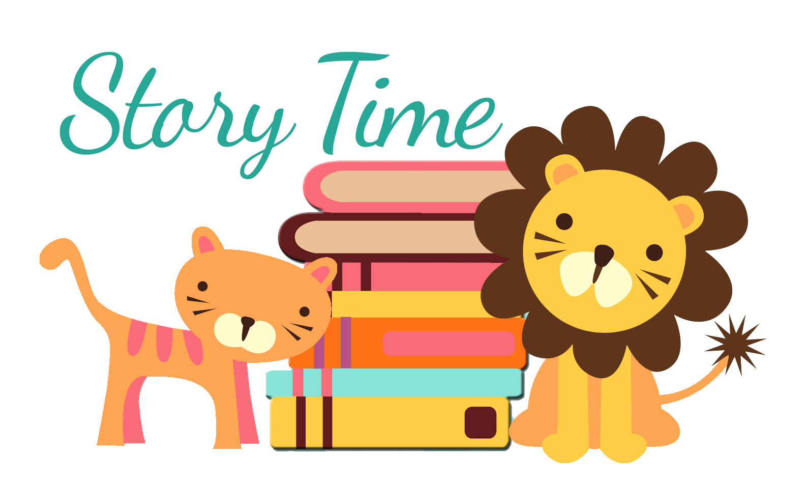 Preschool Story Time Clipart.