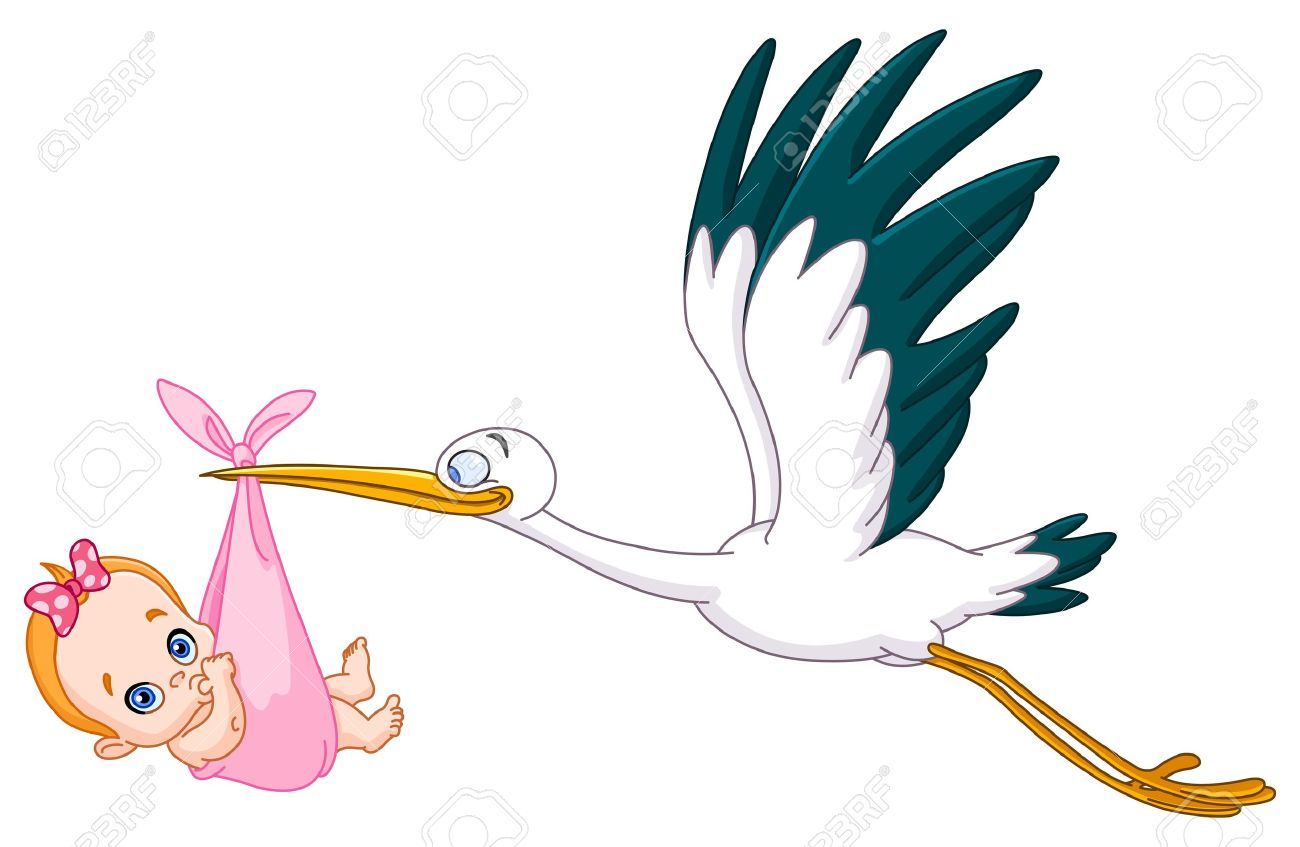 5,044 Stork Stock Illustrations, Cliparts And Royalty Free Stork.
