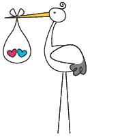 Stork Clipart.