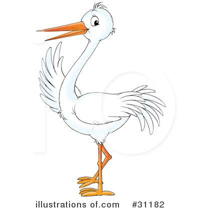 Stork Clipart #31182.