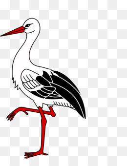 Stork With Baby PNG and Stork With Baby Transparent Clipart.