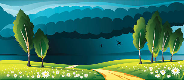 Storm Approaching Clip Art, Vector Images & Illustrations.