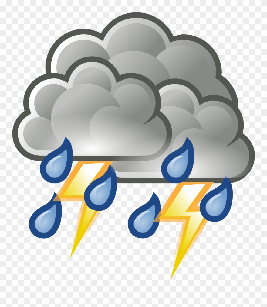 Storm Clipart Different Weather.