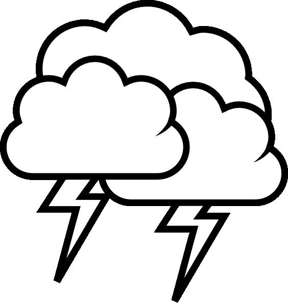 Rain Storm Clipart.