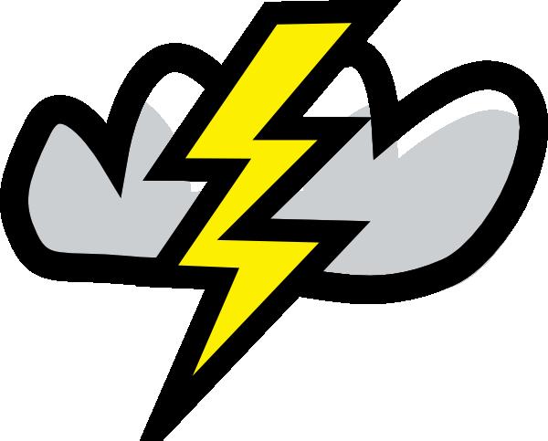 Thunder Storm clip art Free Vector / 4Vector.