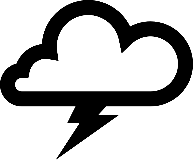 Storm Cloud Clipart.