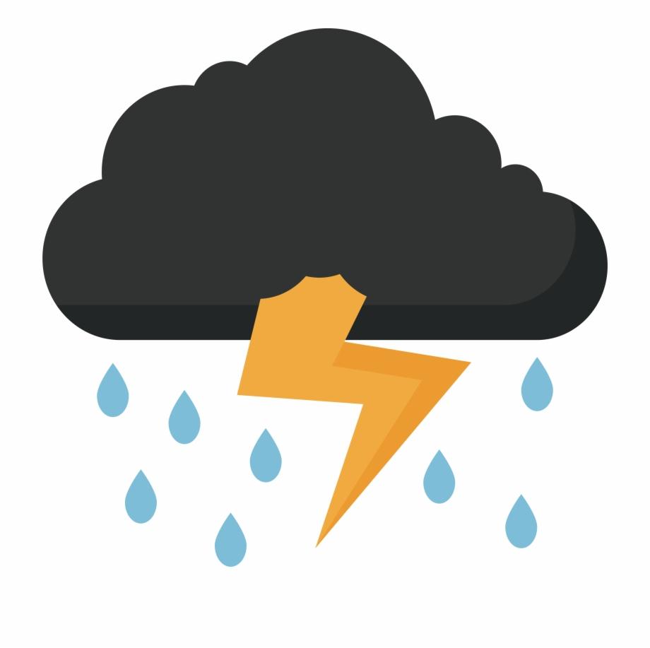 Storm Clipart Thunder Lightning.