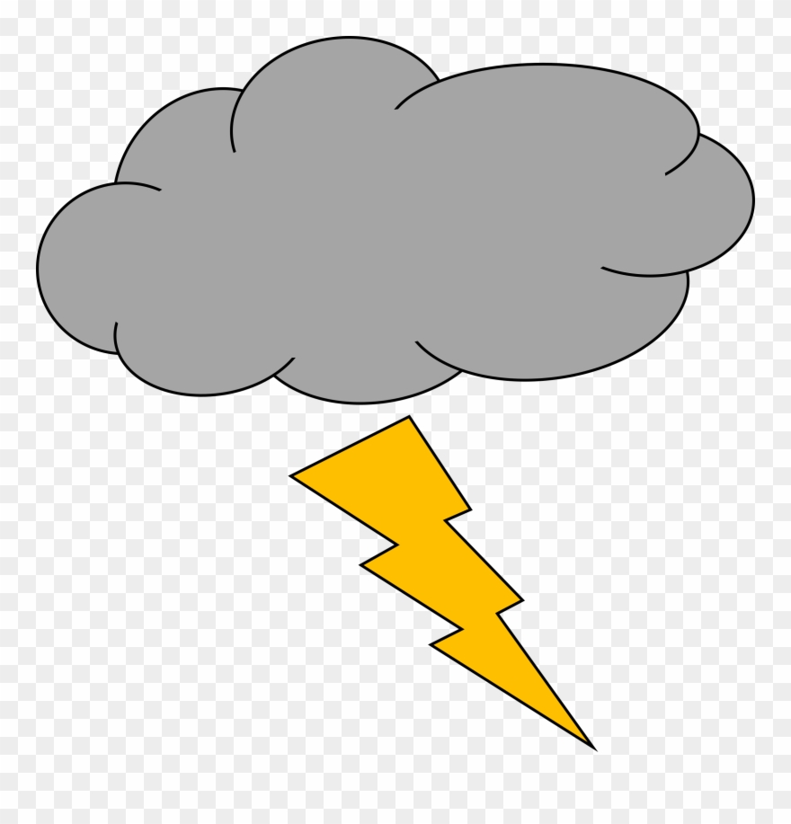 Thunderstorm Lightning Strike Cloud.