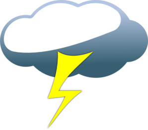 Storm Clouds Clipart.