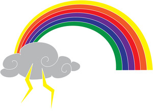 Gathering Storm Clipart Image.