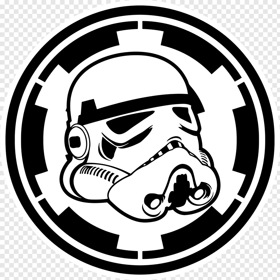 Star Wars Storm Trooper logo, Anakin Skywalker Stormtrooper.