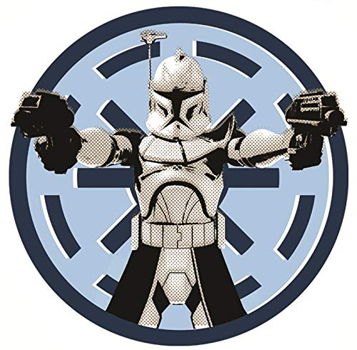 3 Inch Clone Wars Stormtrooper Imperial Logo Decal Star Wars.