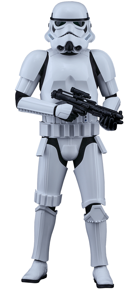 Stormtrooper transparent PNG.