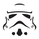 Star Wars Stormtrooper Clipart.