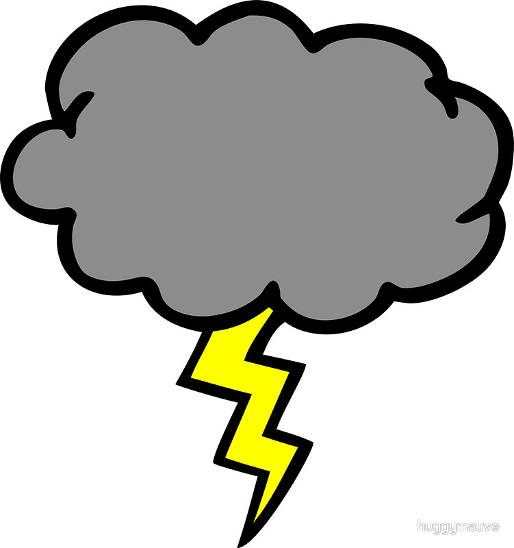 Lightning clipart stormcloud, Lightning stormcloud.