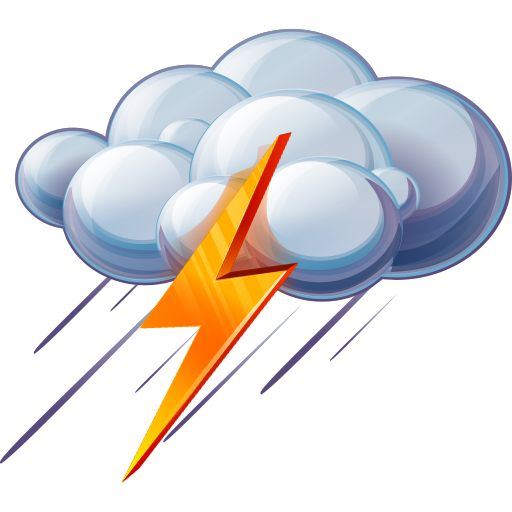 Storm cloud clipart clipart.