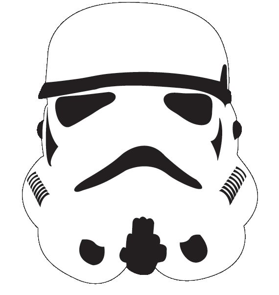Download stormtrooper cut out clipart Star Wars.