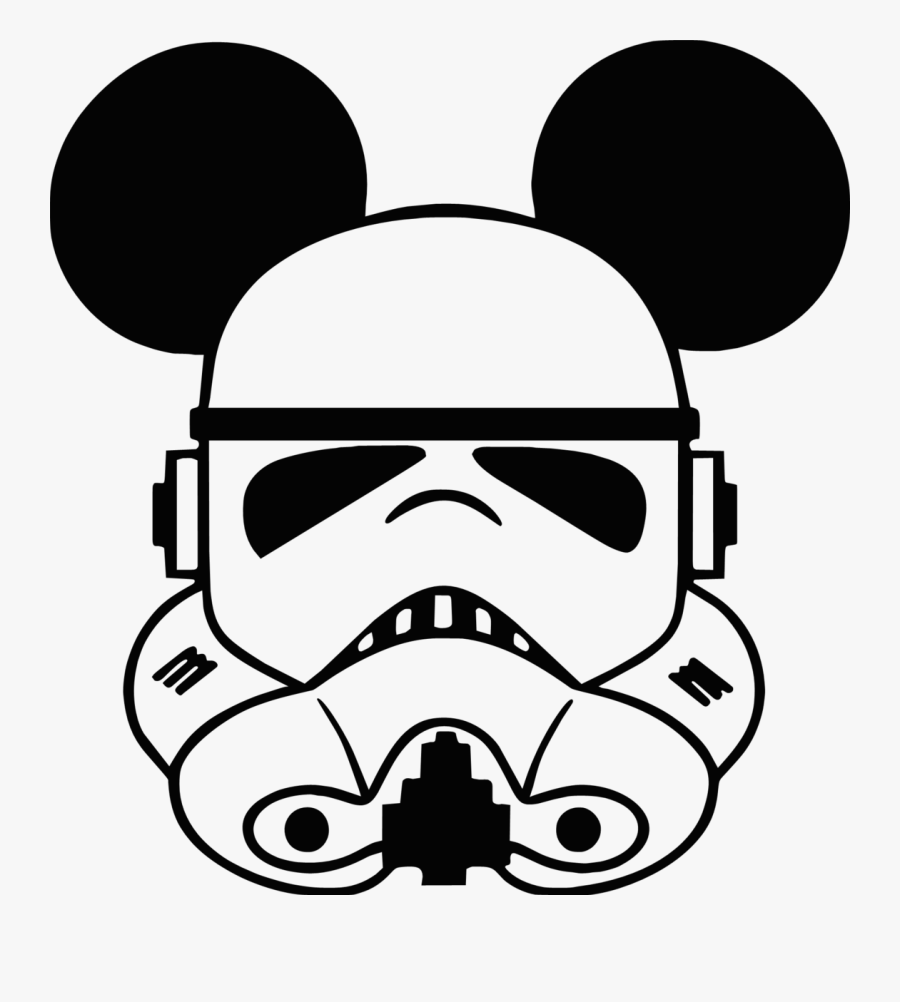 Transparent Star Wars Stormtrooper Clipart.