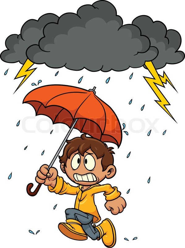 Stormy Day Weather Clipart.