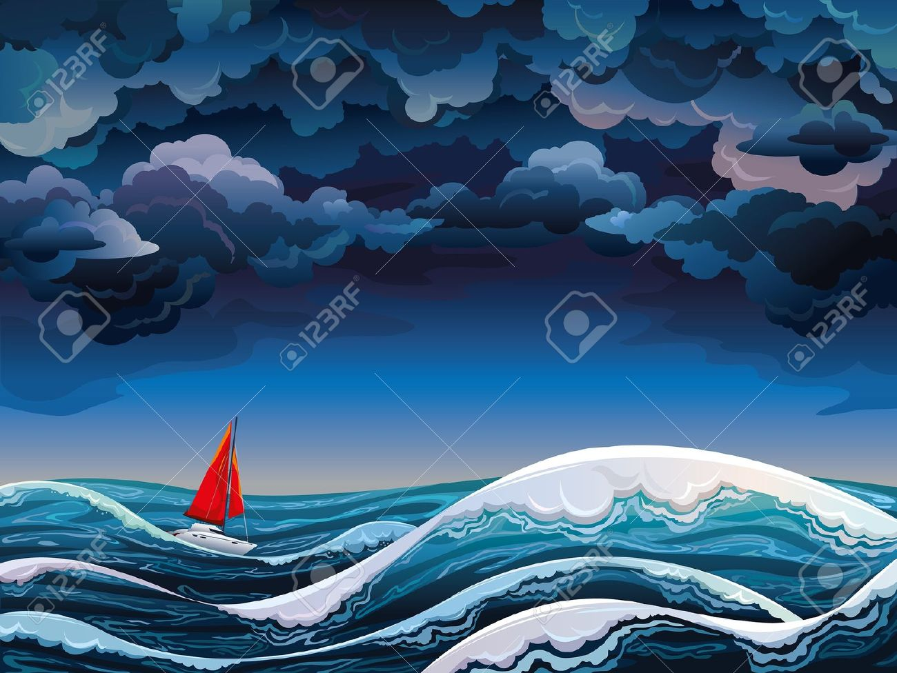 stormy sea clipart clipground