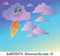 Stormy sky Clipart Royalty Free. 839 stormy sky clip art vector.