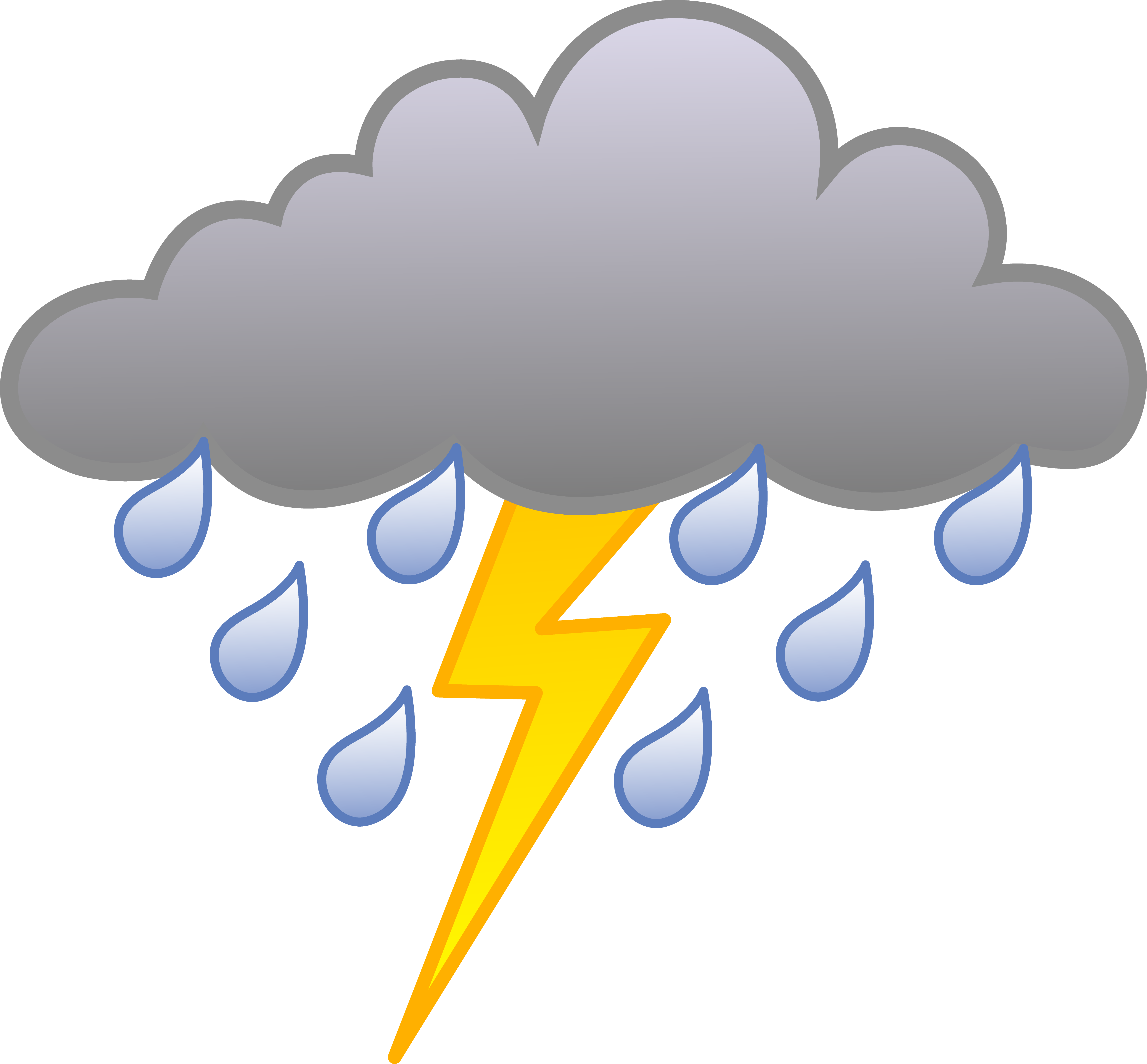 Stormy weather clipart 1 » Clipart Station.