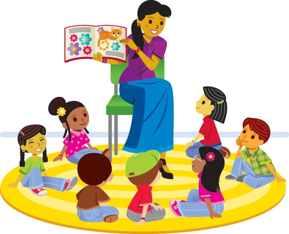 Storytime clipart story hour.