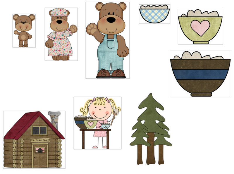Goldilocks & the 3 Bears: Book companion.