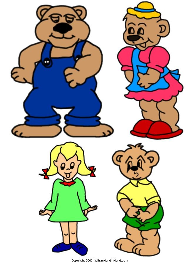 14 best images about Goldilocks and the Three Bears on Pinterest.