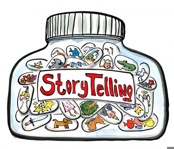 Free Storyteller Clipart.