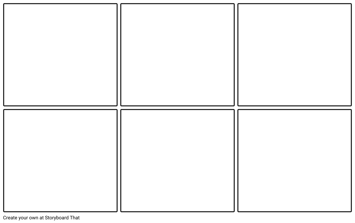 6 Cell Storyboard Storyboard by worksheet.