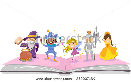 Storybook Characters Clip Art (24+).