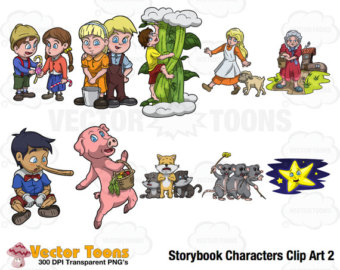 Storybook clipart.