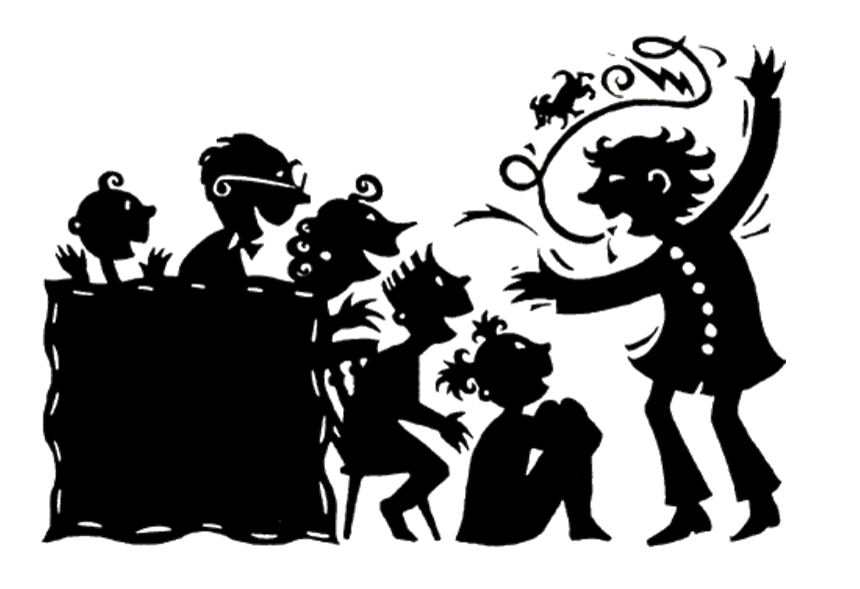 Storytelling clipart black and white.