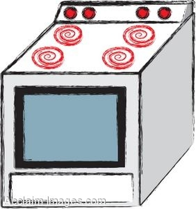 Stoves clipart #8