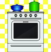 Stove Clip Art Royalty Free. 7,191 stove clipart vector EPS.