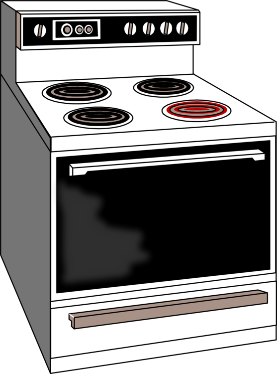 Major Appliance,Home Appliance,Gas Stove Clipart.