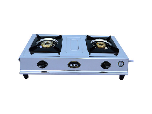Double Burner Png Gas Stove.