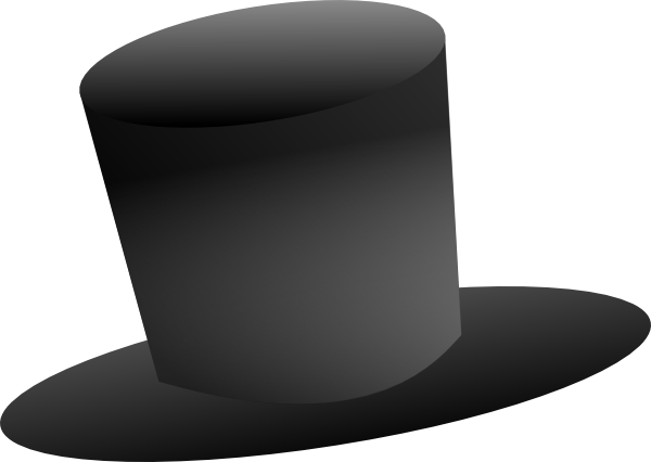 Stovepipe hat clipart #20