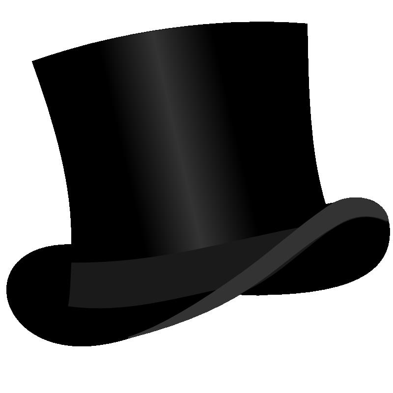 Clipart top hat.