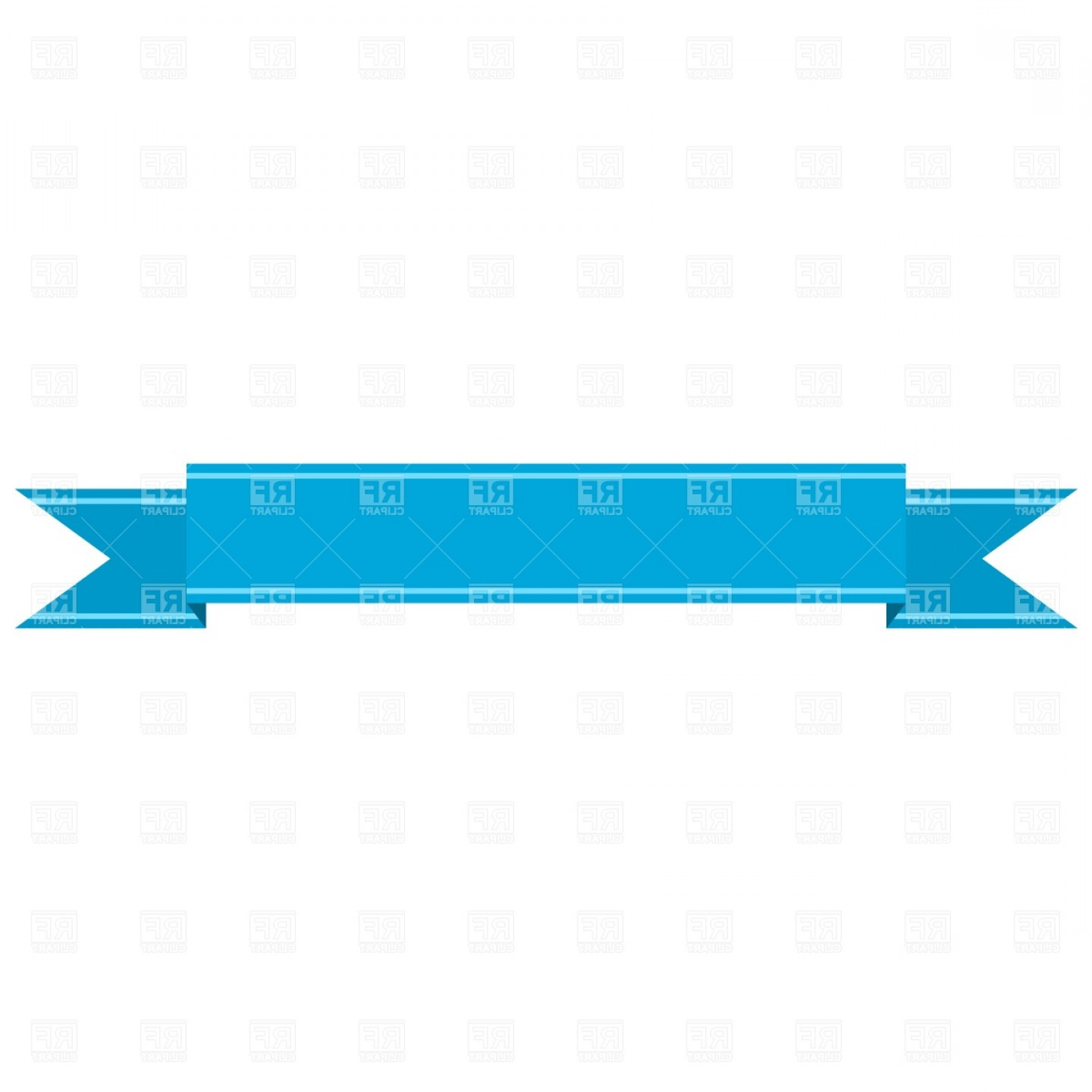 Best Straight Banner Ribbon Vector Clipart Layout.
