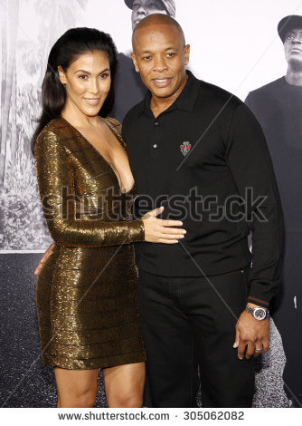 Dr Dre Nicole Young Los Angeles Stock Photo 305062154.