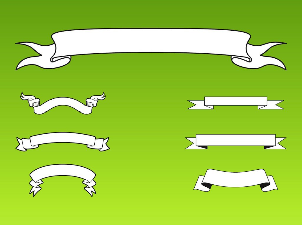 Straight Ribbon Clipart (26+).